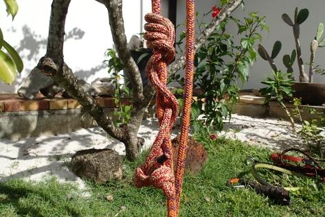 Corde à prussik, noeud auto-loquant